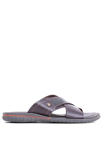 Tony Perotti brown Tony Perotti Sandals Eugene - Brown A5E8ASHD7E0647GS_1