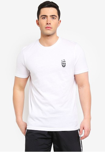 Brave Soul white Basilisk T-Shirt with Chest Embroidery 270A4AA59DD789GS_1