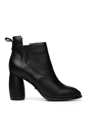 Byford black Embledon Heeled Boots E6EDFSH9C891D2GS_1