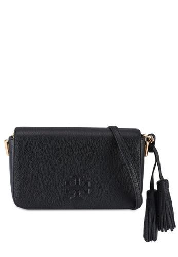 TORY BURCH black Thea Mini Bag (NT) 1AFF5ACE8BEA2EGS_1