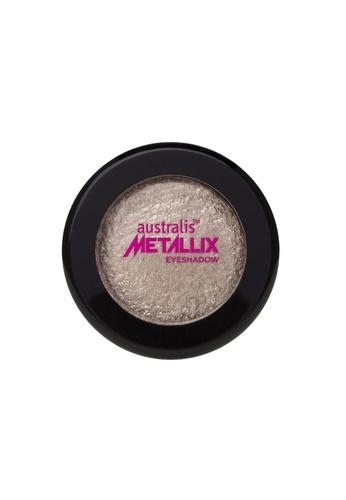 Australis beige and gold Metallix Eyeshadow - Guns & Rose Petals AU782BE87DCISG_1