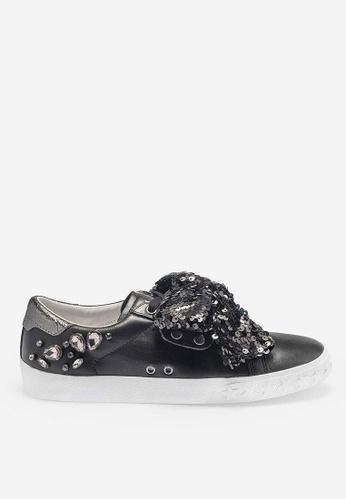 ASH black Demon - Black Sequin Low-Top Sneakers 747D1SH53E6CF2GS_1