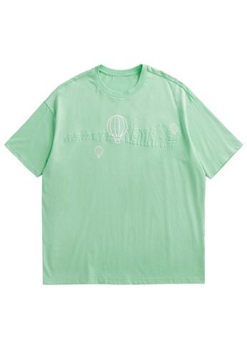 Twenty Eight Shoes Trend Printed Short T-shirt 5171S21 F74E4AA67074C4GS_1