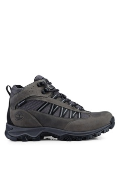 c76940176 Timberland grey Mt. Maddsen Lite Mid Waterproof Hiking Boots  9140DSH8618726GS 1
