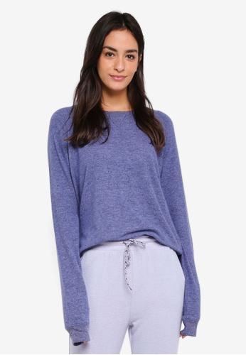 Cotton On Body blue Super Soft Crew Neck Top 7B411AABEB5ECFGS_1