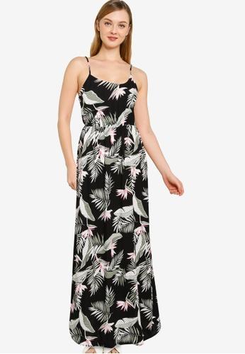 Vero Moda black Simply Easy Singlet Maxi Dress 6A66EAA034FE78GS_1