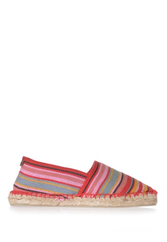 TONI PONS red and multi JORDAN CAMPING LONA - Slip-On Espadriller 2CE40SHED1F427GS_1