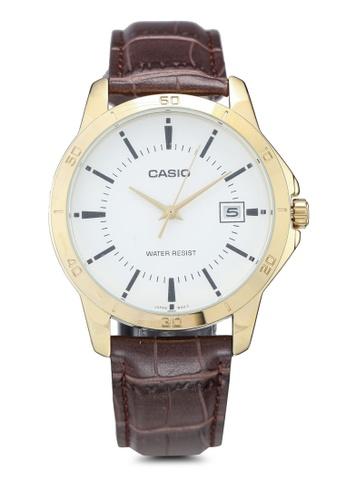 Casio brown Casio MTP-V004GL-7AUDF Watch 5AB24AC262BA0FGS_1