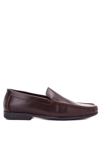 Itti brown Formal Shoes IT425SH0JTKTPH_1