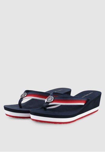 4dc97984e666 Buy Tommy Hilfiger OMBRE EFFECT BEACH SANDAL Online on ZALORA Singapore