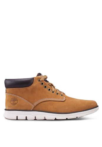 Timberland brown and beige Bradstreet Chukka Boots 5CE11SHE15EF97GS_1