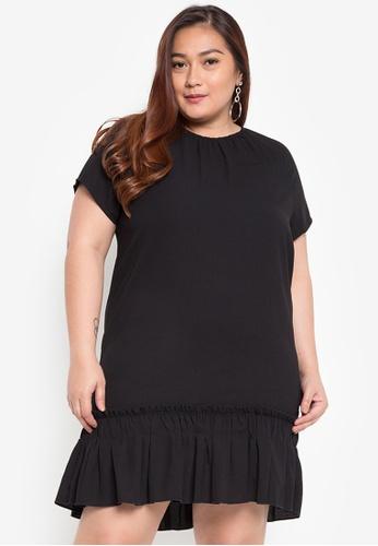 9bd1e39047 Shop Maldita X Plus Size Ruffled Dress Online on ZALORA Philippines