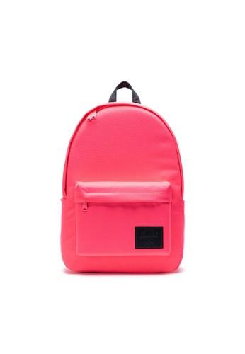 Herschel pink Herschel Classic X-Large Backpack Neon Pink Black - 30L A4195AC906A683GS_1