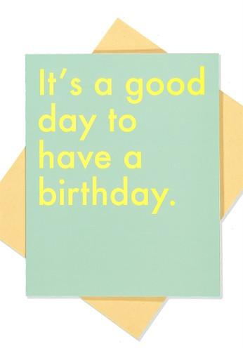 Typo blue Nice Birthday Card AF83EAC7708B0AGS_1