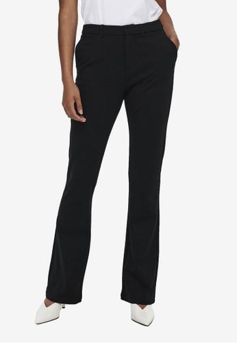 ONLY black Elora Mid Waist Flare Tailored Pants 6445CAAA703616GS_1