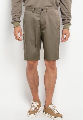 Billabong brown Carter Stretch Shorts 403BEAAD39CDE6GS_1