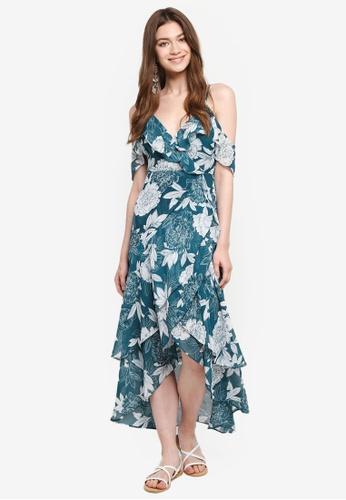 Bardot green Garden Party Dress BA332AA0STBQMY_1