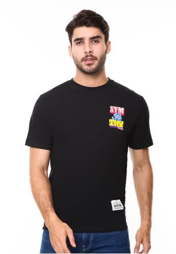 Endorse black Tshirt syn sympathy black END-RE010 72ACDAA77A68D9GS_1