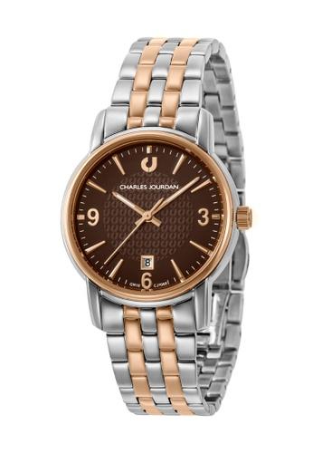Charles Jourdan silver Charles Jourdan Ladies Watch Elegance Quartz CJ1068-2642 3F96BAC49D9D35GS_1