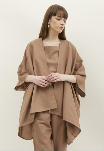 NOA EVERYDAY brown NOA Cardigan Kanna - Brown 4CD1BAA7D78CF8GS_1