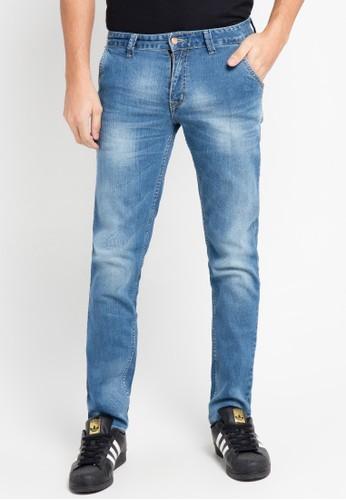 EDWIN blue Long Jeans Pants 603-85-07 ED179AA0URHHID_1