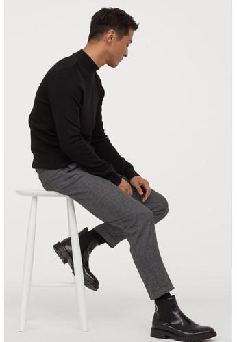 H&M black Joggers Slim Fit 46409AAF9217F4GS_1