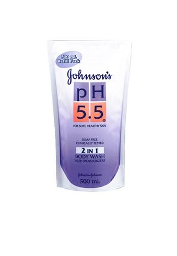 Johnson's ph5.5 Johnson's pH5.5 2 In 1 Body Wash 500ml DB8B7ES5CF593DGS_1