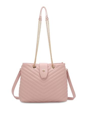 Wild Channel 粉紅色 Women's Sling Bag / Shoulder Bag 38D9BACA09F1F4GS_1