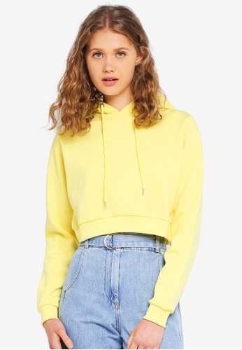 Factorie yellow Travis Taped Hoodie D0718AA82B9265GS_1