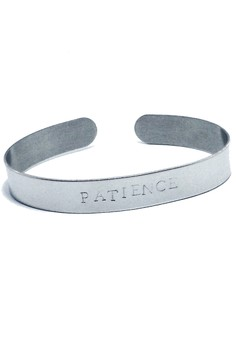 Stainless Steel Patience Bangle