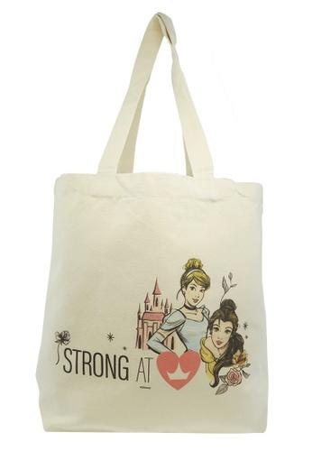 DISNEY Princess Disney Princess UPC Canvas Shopping Bag E7ADEKC0E39095GS_1