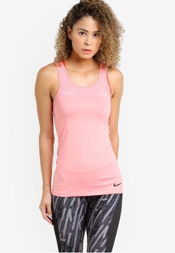 Nike pink Women's Nike Pro Hypercool Tank Top NI126AA50MFLMY_1