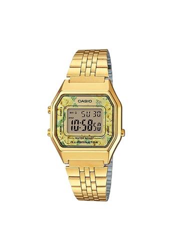 Casio gold Casio Small Vintage Digital Watch (LA680WGA-9C) 73977AC8CA1F90GS_1