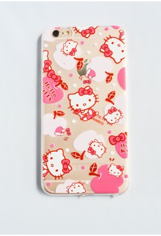 Apples and Hello Kitty Soft Transparent Case for iPhone 6 plus/ 6s plus