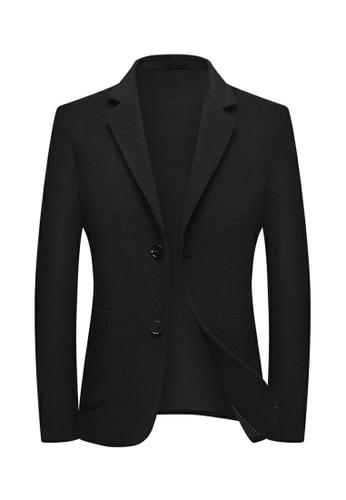 HAPPY FRIDAYS Slim Casual Wooled Jacket 2001 0147FAAD0CA069GS_1