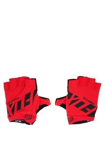 Fox Racing red Ranger Short Gloves FO276AC0JWHDPH_1
