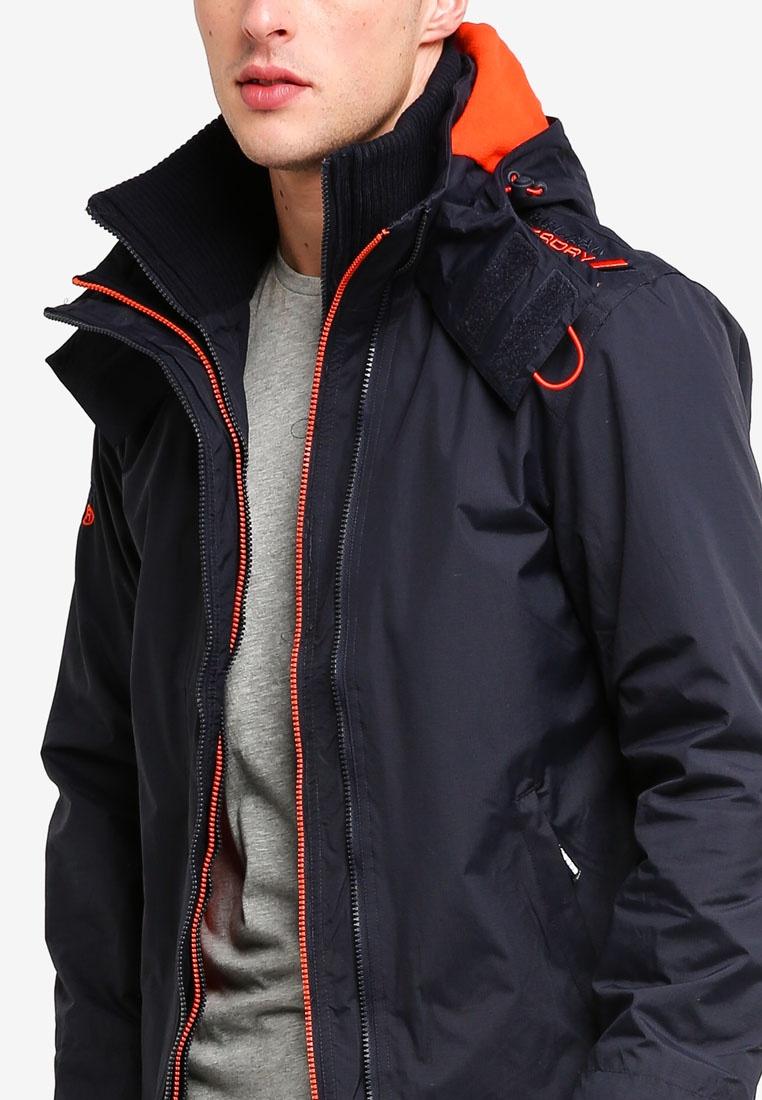 Jacket Acid Petrol Orange Popzip Hood Superdry Windcheater Arctic tq7RAwc