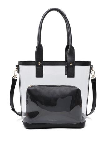 Milliot & Co. black Vanessa Tote Bag F76A3AC92CA0DEGS_1