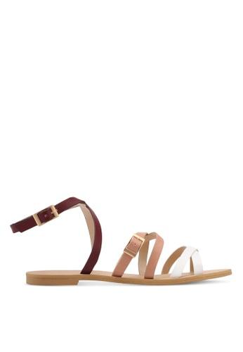 ZALORA multi Strappy Sandals E596BSH53F83D0GS_1