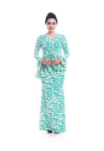 Sarimah Mint Green & Cream ( KISS) from Efi Nofiani_1