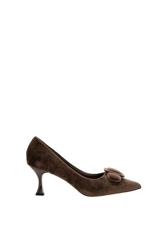 SEMBONIA brown Women Suede Court Shoe DBBD4SHF5AA11CGS_1