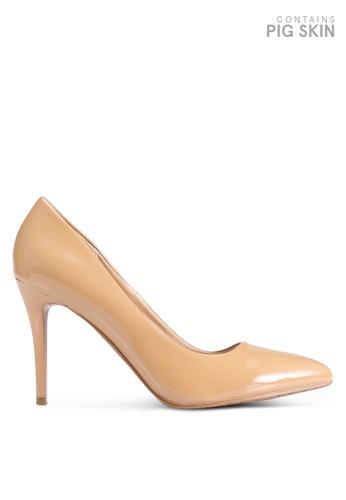 BETSY 米褐色 Olivia 經典高跟鞋 A27D3SH9E90193GS_1