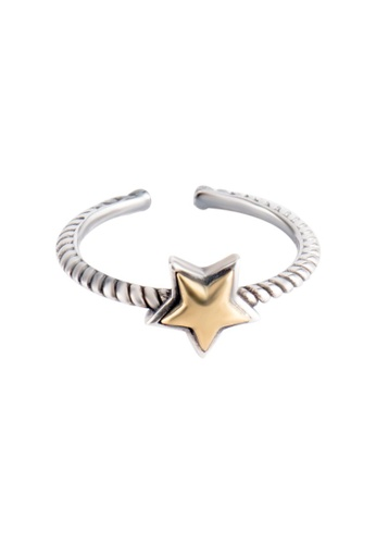 OrBeing white Premium S925 Sliver Star Ring 546ACAC40A4937GS_1