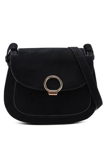 Miss Selfridge Black Micro Saddle Bag 9b990ac63a1a36gs 1