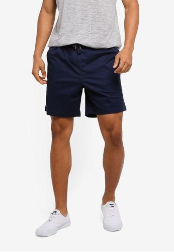 Cotton On navy Easy Shorts F14BAAA75DA537GS_1