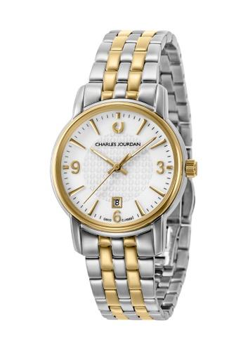 Charles Jourdan silver Charles Jourdan Ladies Watch Elegance Quartz CJ1068-2112 657C9ACD704C6EGS_1