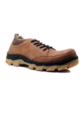 Cut Engineer brown Cut Engineer Every Moment Safety Low Boots Leather Brown CU226SH10BUVID_1