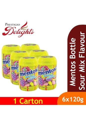 Prestigio Delights black Mentos Bottle Sour Mix Flavours 120g x 6s 71CF7ES8E5AE6CGS_1