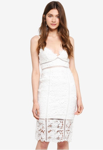 Bardot white Botanica Lace Dress BA332AA0ST8BMY_1