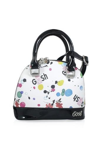 GOSH white Amaryllis-314 Splash Hand Bag 8A632ACE339228GS 1 525c0af861